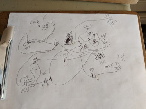 Vacuum Diagram Scribbled