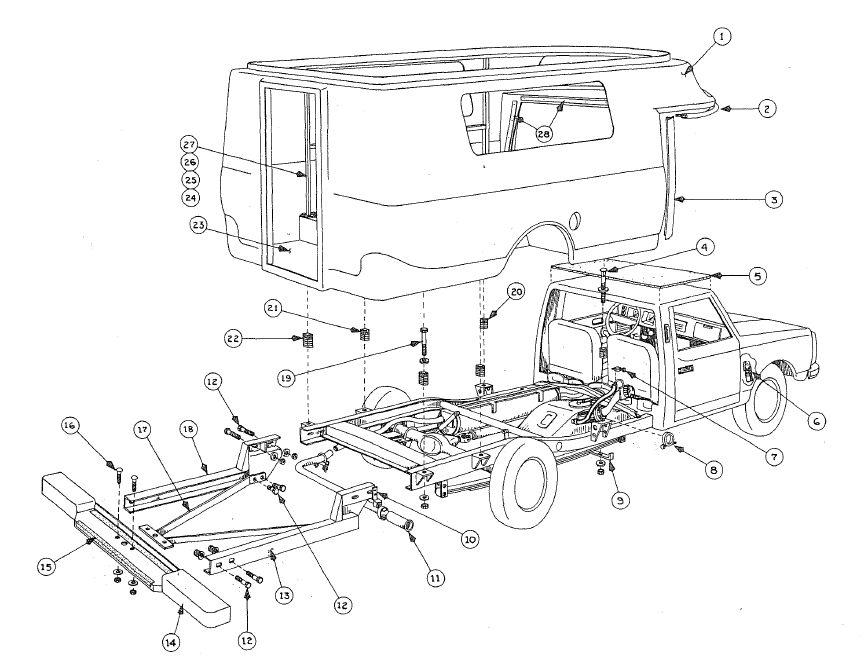 chinook electrical  u0026 vacuum diagrams